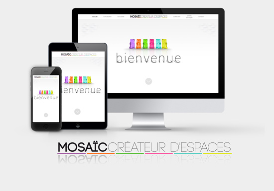 RWD Website - Mosaic Agencement - 2015